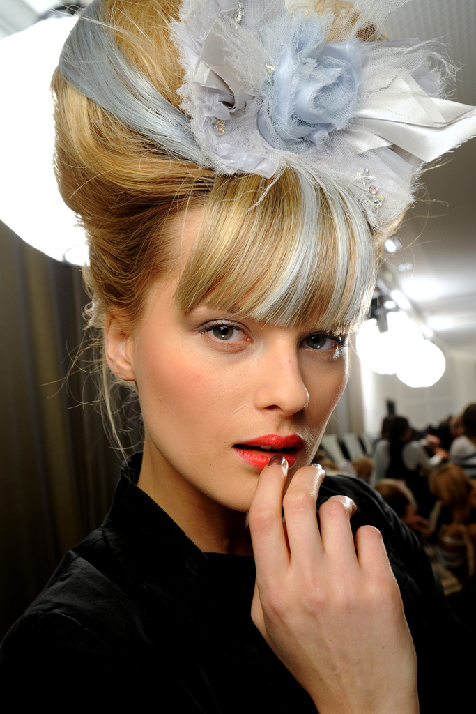 chanel beauty spring 2010 couture