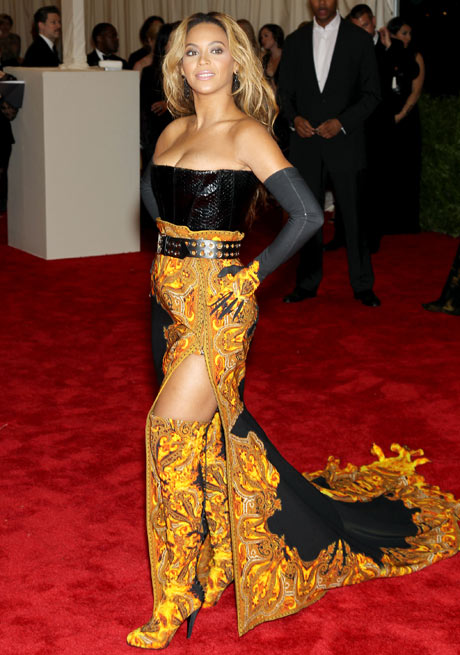 Met ball 2013: Beyoncé Knowles