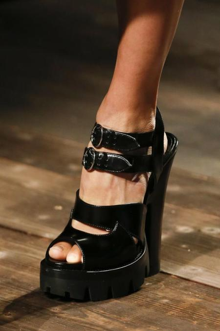 prada fall 2013 shoes